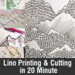 Lino Printing and Embossing in 20 Minutes