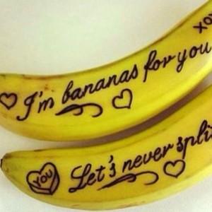 Message on a Banana