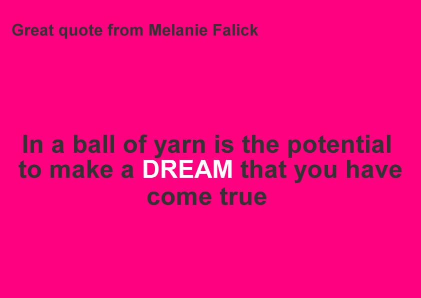 Melanie Falick Quote