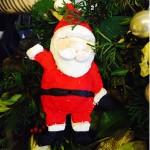 On the 10th Day of Christmas: Fimo Santa