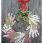 On the 4th Day of Christmas: Wreath Hands