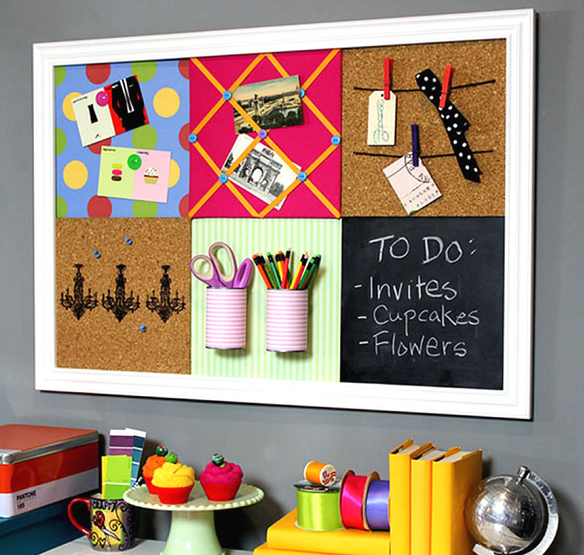 Diy notice board picking the perfect one for the home for Creative notice board