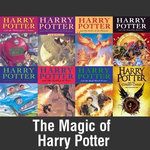 Harry Potter Books Banner