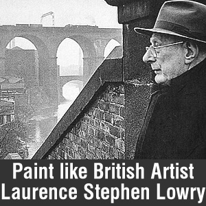 Paint Like Stephen Lowry Banner