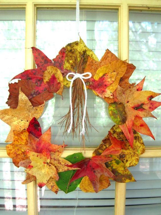 leaf wreath 2