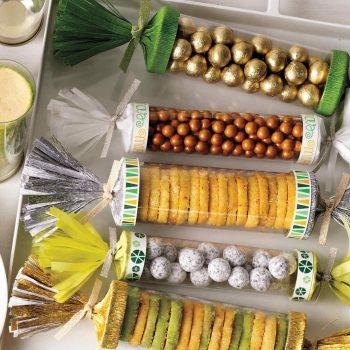 DIY christmas crackers edible