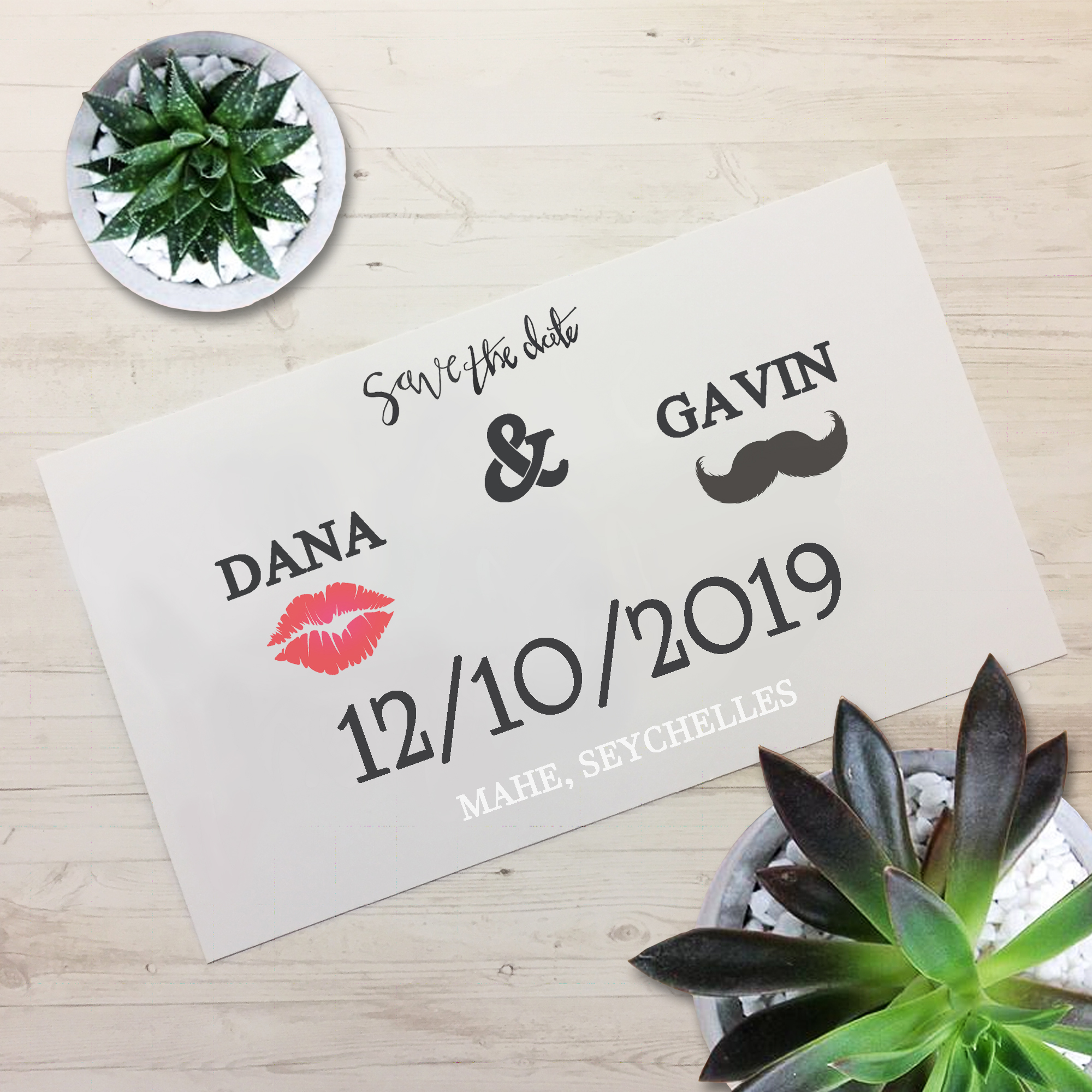 How To Make Your Own Save The Date Cards Be Creative Daily Be