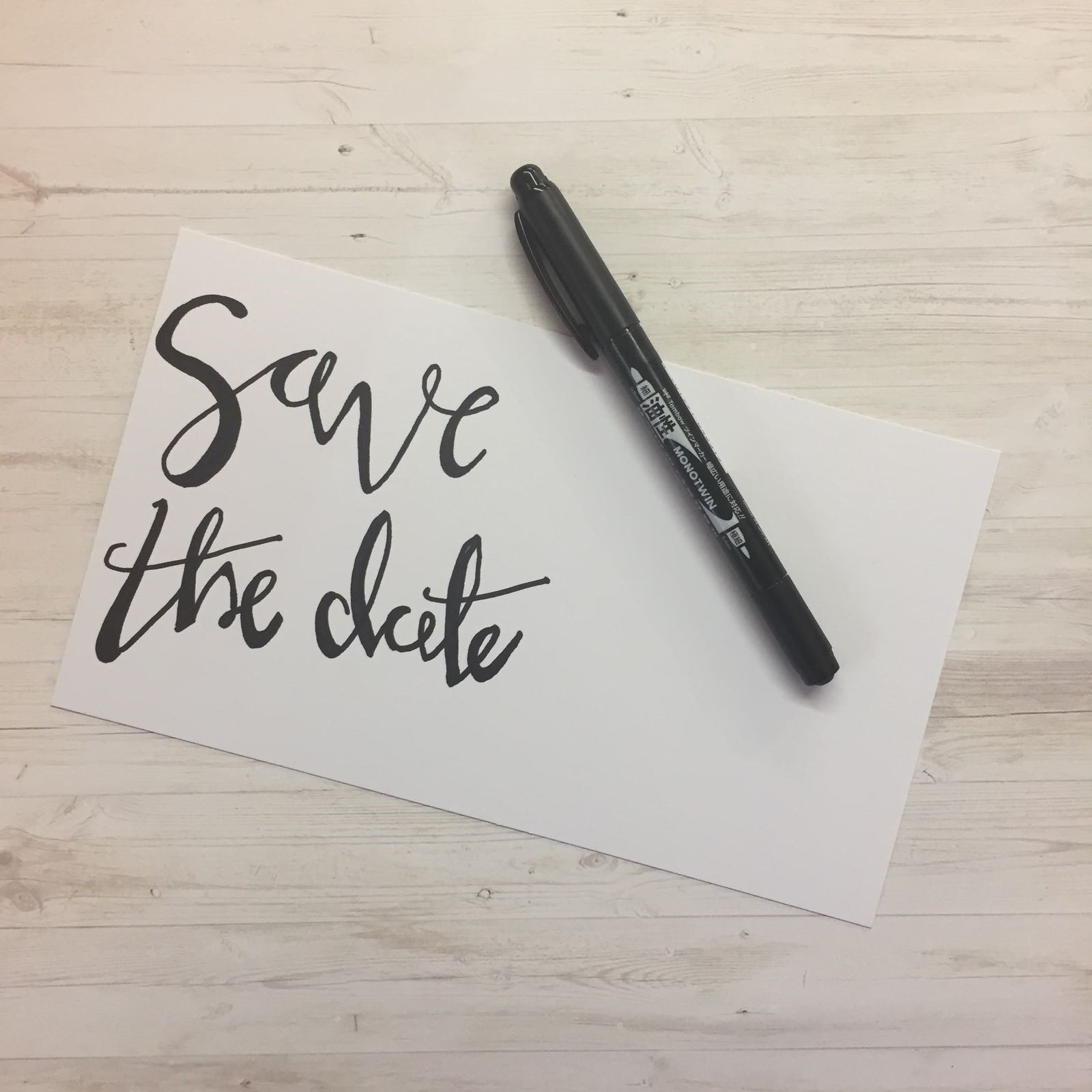 how to make your own save the date cards be creative daily