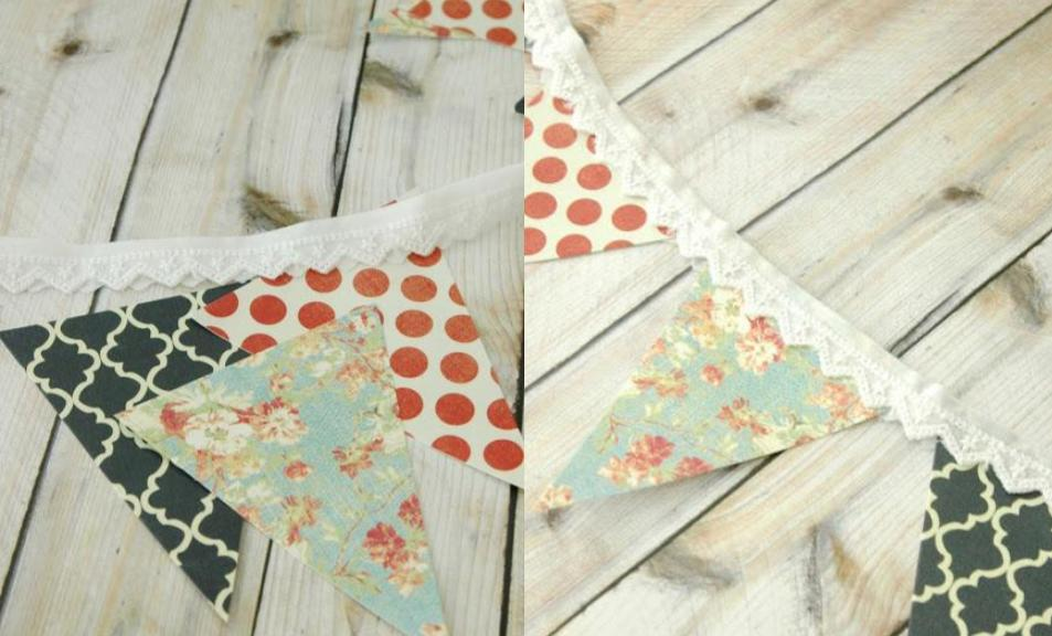 garden party decorations bunting