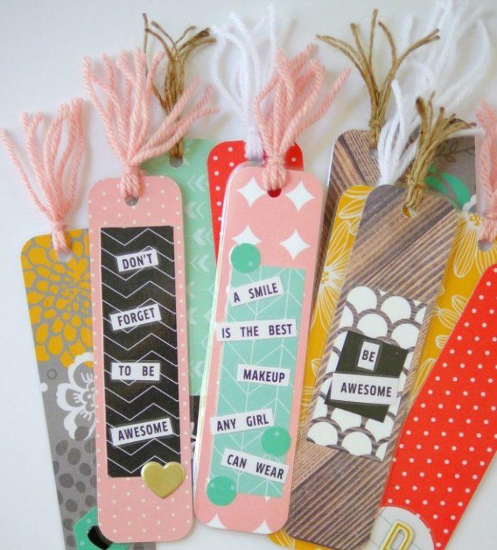 diy back to school bookmarks