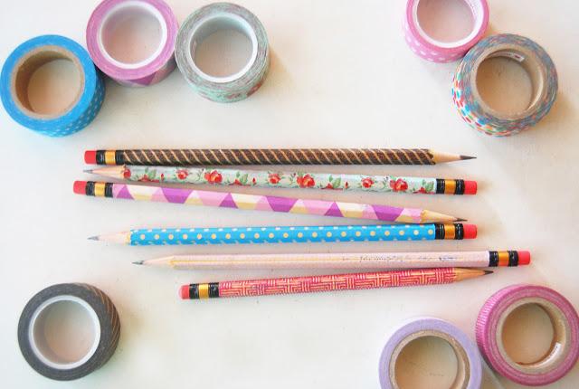 diy back to school pencils