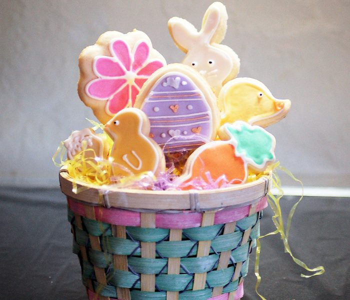 Green Easter Recyclable Basket