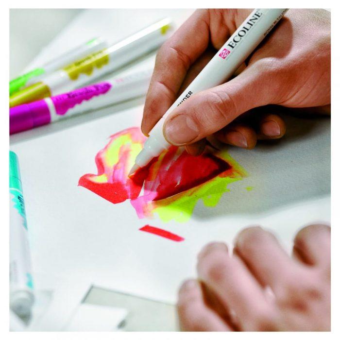 brush pen travel art material