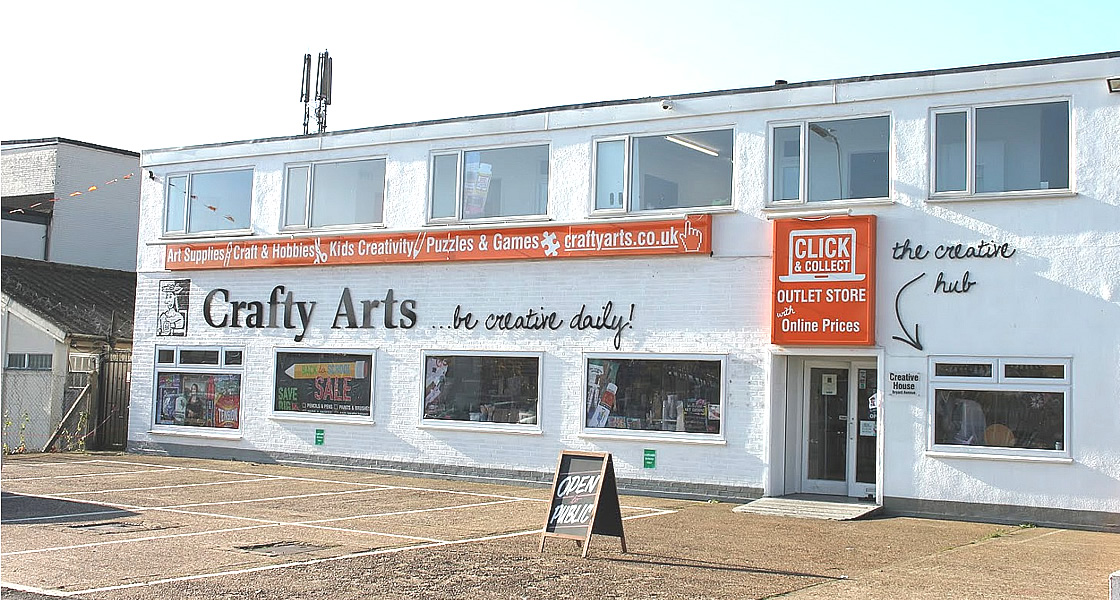 Crafty Arts Local Art Shop In Romford Essex For Artists And Crafters