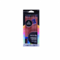 10 Piece Coloured Pencil Set with Sharpener