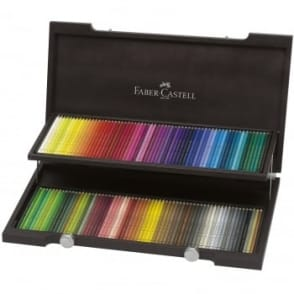 120 Polychromos Colour Pencils in a Luxury Wooden Case