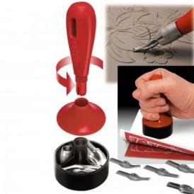 3-in 1 Lino Cutter & Stamp Carving Kit