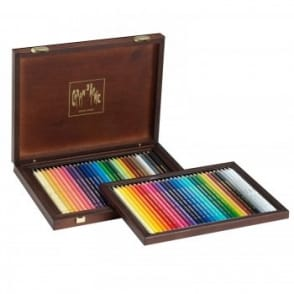 30 Supracolor Water-Soluble Colour Pencils & 30 Pablo Permanent Colour Pencils