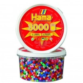 3000 Solid Mix Hama Beads