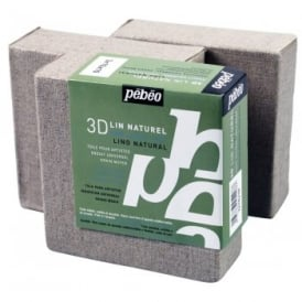 3D Canvas Blocks Natural (10 x 10cm) Triple Pack