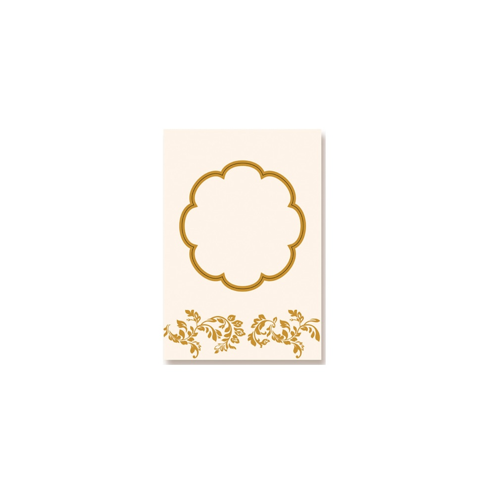 5 pack blank card tudor plain cream a5  kanban from