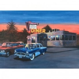 50s Diner - Large Paint By Numbers