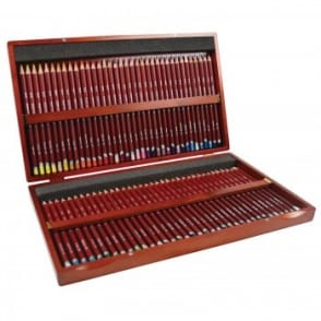 72 Wooden Box Pastel Pencils