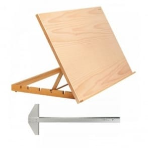 A2 Work Station Easel & T Square Set