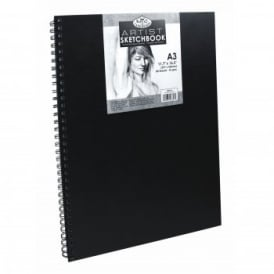 A3 Sketchbook with Spiral Side (80 Sheets)