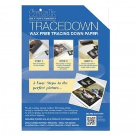 A4 Tracedown Pack of 5 White