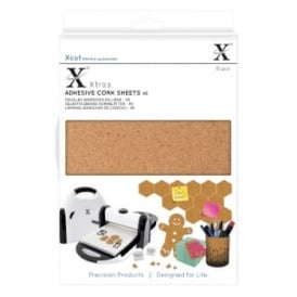 A5 Adhesive Cork Sheets 15pcs