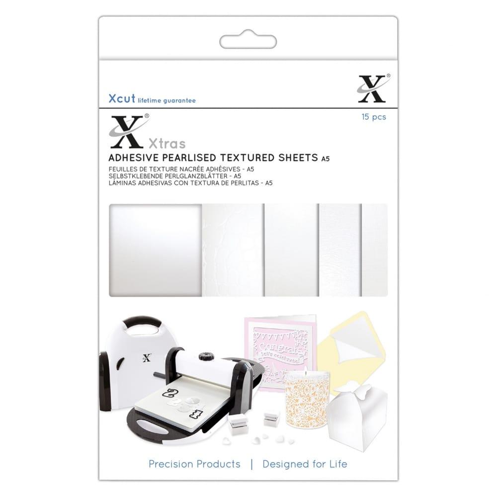 Xcut Xtras A5 Adhesive Coloured Acetate Sheets 15 Sheets