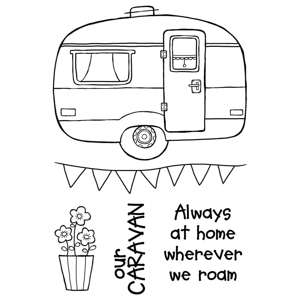 a6 clear cling stamps caravan set of 5 p12401 38043_image