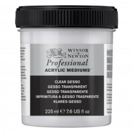 Acrylic Gesso Base Clear 225ml