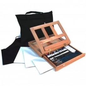 Acrylic Painting Art Easel Set 27pc