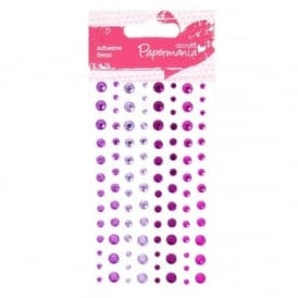 Adhesive Stones 104pcs - Heather
