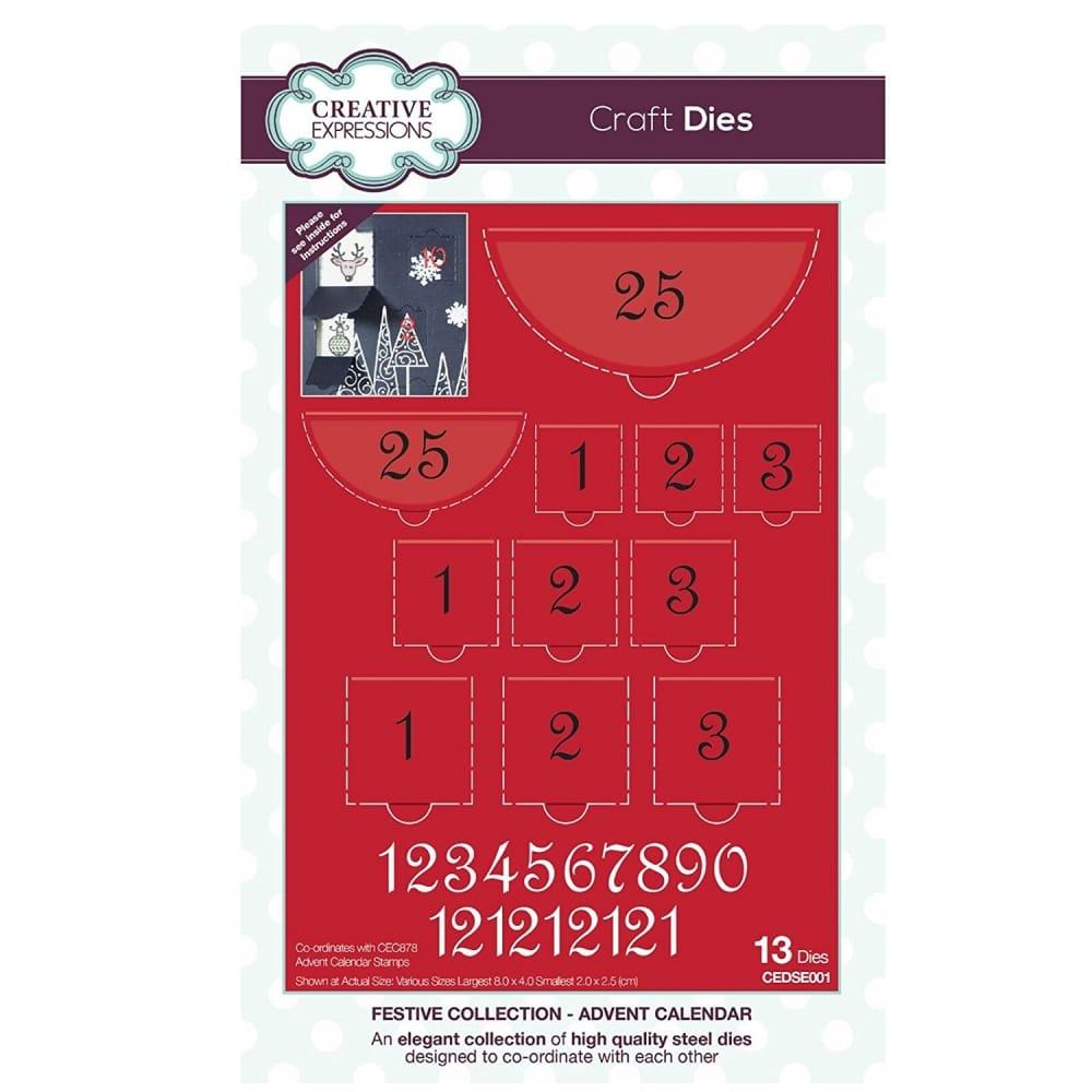 Advent Calendar 13 Die set