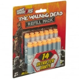 Air Warriors The Walking Dead 14 ULTRA-TEK Foam Dart Refill Pack