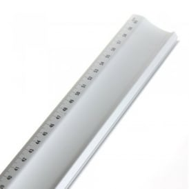 Aluminium Ruler 60cm With Ridge