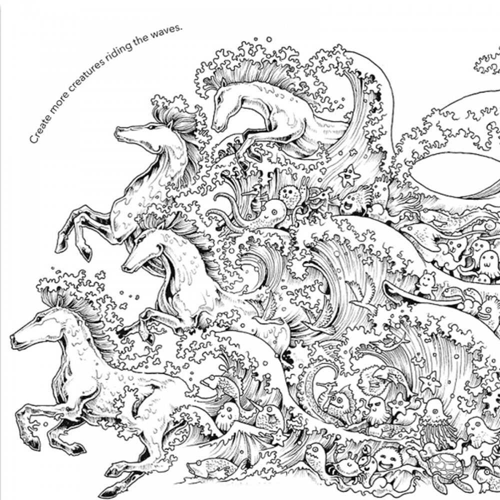 Animorphia an extreme coloring and search challenge by kerby rosanes - Animorphia An Extreme Colouring Book And Search Challenge