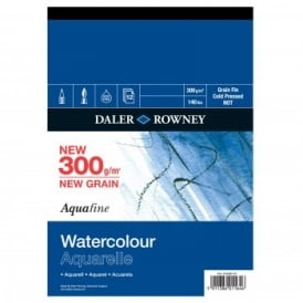 Aquafine 140lb Watercolour Pad 16 x 12""