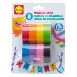 Art Masking Tape 8 Pack
