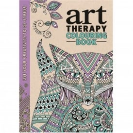 Art Therapy Colouring Book*