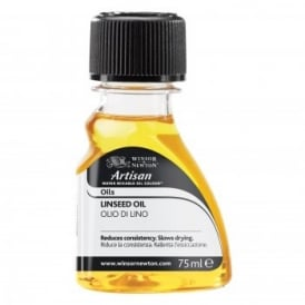 Artisan Water Mixable Linseed Oil Medium 75ml