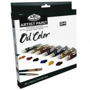 Artist Paint - Oil Paint Set 24 Tubes