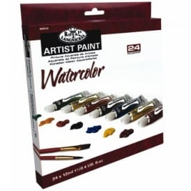 Artist Paint - Watercolour Paint 24 Tubes