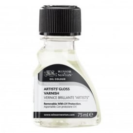 Artists Mediums Gloss Varnish 75ml