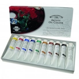 Artists Oil Colour Introductory Set 10 Tubes