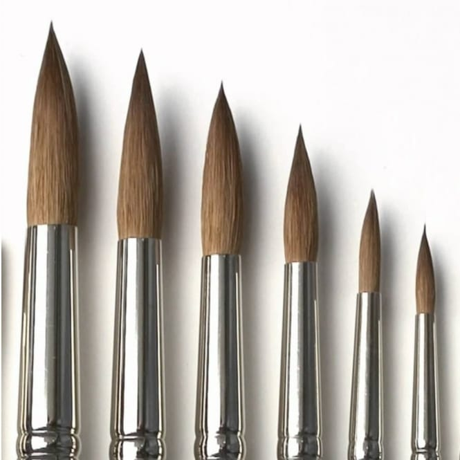 Artist's Value Red Sable 6 Piece Brush Set