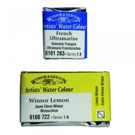 Artists' Water Colour Half & Whole Pan*